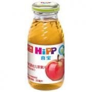 HiPP 喜宝 婴幼儿有机果汁 200ml 苹果味 *6件