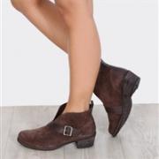UGG Wright Belted女士踝靴