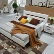 QuanU 全友 121802 卧室成套家具 1.8米床+床头柜+床垫2429元包邮(双重优惠)
