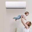 FUJITSU 富士通 ASQG09LPCA 全直流变频冷暖壁挂式空调 1匹2599元包邮