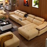 Romantic Star 浪漫星 头层中厚真牛皮双人位沙发+单人位+贵妃榻¥3460