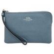 COACH 蔻驰 奢侈品 女士蓝色皮质手拿钱包 F15154 SVN1J324元包邮(需用券)