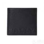 Bally 巴利 Brasai Bold 男士牛皮压印Logo对折短款钱包 两色
