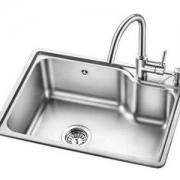 OULIN 欧琳 OLJD613+OL-8808 单盆水槽套装