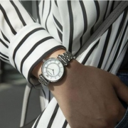 Prime会员镇店之宝,Emporio Armani 阿玛尼 AR1908 时尚镶钻满天星系列 女士时尚腕表