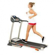 Sunny Health & Fitness 家用静音可折叠跑步机