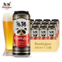 Panda King 熊猫王 精酿啤酒 500ml*12瓶 *6件