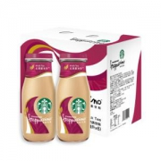 STARBUCKS 星巴克 星冰乐 抹茶味 咖啡饮料 281ml*6瓶礼盒装  *3件164.7元包邮(双重优惠)