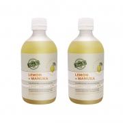 【AngelaBaBy同款】BIO-E 天然柠檬麦卢卡蜂蜜酵素 500ml/瓶*2件装