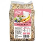 Summer prince 萨瑞斯 水果麦片 1kg *5件99.5元包邮(合19.9元/件)