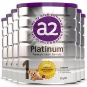 a2 艾尔 Platinum 白金版 婴幼儿奶粉 1段 900g *61152元包邮包税(需拼团,合192元/罐)