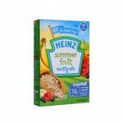 Heinz 亨氏 婴儿夏日水果杂粮米糊米粉 2段 120g