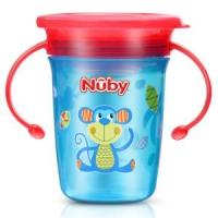 Nuby 努比 360度魔术学饮杯 240ml 猴子 *3件
