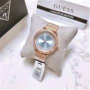 Guess  Willow 系列 女士玫瑰金水晶时装腕表 W0836L1