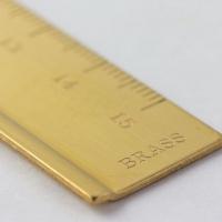 Midori 黄铜制 复古 刻度尺 日本文具品牌