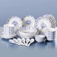 YunTang 韵唐 心愿系列 釉中彩陶瓷餐具 30头 +凑单品
