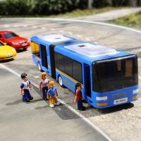 SIMBA 仙霸 大型双节公交巴士 带人偶