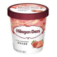 养乐多 活菌型乳酸菌饮料 100ml*5*2+哈根达斯 草莓冰淇淋  473ml