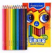 MARCO 马可 4500-12CB(JD) 木杆彩色铅笔 12色盒装