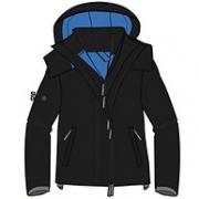 M码,Superdry 极度干燥 Tech Hood Wndcheter Nb 男士运动夹克