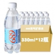 689 PURE TABLE WATER 充气矿泉水 330ml*12瓶54元,可优惠至27元/件