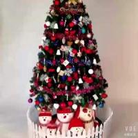 圣诞节1.8米 圣诞树发光套餐
