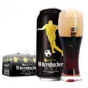 Wurenbacher 瓦伦丁 黑啤酒 500ml*24听  *2件