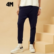 4M 男士束脚卫裤
