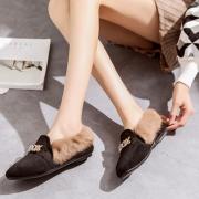 颐娉 女士加绒保暖豆豆鞋 BB款