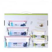 Glasslock 三光云彩 Classic经典系列 玻璃保鲜盒 5件套 *3件