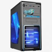 SAMA 先马 奇迹3 ATX机箱(支持ATX主板、前置USB3.0、全黑化、铁网防尘、支持SSD、侧透) 99元包邮(满减)99元包邮(满减)