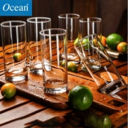 Ocean 鸥欣 耐热玻璃杯套装290ml*6只19.9元包邮(需领券)
