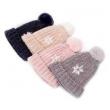 名创优品 可爱雪花针织帽24.9元包邮(需用券)