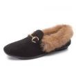 中情鸟 女士保暖毛毛鞋29.9元包邮(需用券)