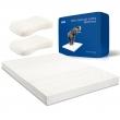 TAIPATEX  天然泰国乳胶床垫 180cm*200cm*5cm 送乳胶枕1对¥1458