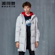 波司登    漫威系列 90%白鸭绒 男士防风防水羽绒服¥959