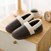 回力 情侣款 防滑包跟棉拖鞋