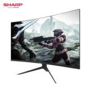 限地区:SHARP 夏普 LL-S320 31.5英寸微边框曲面显示器(144Hz/1800R/85%NTSC/FreeSync) 1399元包邮(需用券)