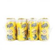 奇梦星 小黄人乳酸菌饮料 原味四排装 100ml*20瓶 *3件