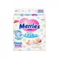双12预售:Merries 妙而舒 婴儿纸尿裤 NB 90片*2件