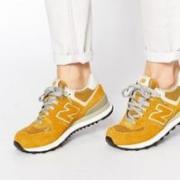 new balance 574系列 WL574SEC 中性款休闲运动鞋198元