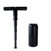 BANANA 便携式迷你多功能伸缩折叠凳子 黑色65元包邮(需用码)