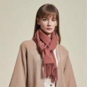 12日0点、双12预售: 网易严选 100%山羊绒纯色围巾