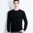 列希尼 男士 羊毛针织衫 纯色毛衣潮打底衫¥59