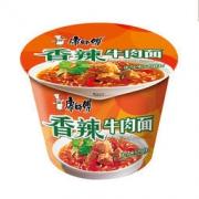 KSF 康师傅 经典系列 香辣牛肉方便面 12桶 整箱装 58.5元