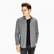 INTERIGHT 男士法兰绒净色衬衫   *3件176.4元包邮(立减,折合58.8元/件)