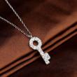 Swarovski 施华洛世奇 Believe 水晶钥匙项链 5007830399元包邮