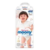 moony 尤妮佳 Natural Moony 皇家系列 婴儿拉拉裤 XL34片 *3件