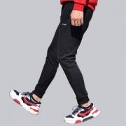 LI-NING 李宁 训练系列 AYKM009 加绒运动长裤