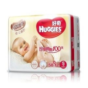 HUGGIES 好奇 铂金装 婴儿纸尿裤 S58片